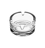 Pasabahce 54126 L Aschenbecher Bistro aus Glas 2 Stück, Ø ~7,2 cm