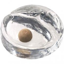 Pfeifen-Aschenbecher aus schwerem Bleikristall - 1