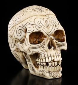 Tribal Celtic Totenkopf Aschenbecher - klein - 1