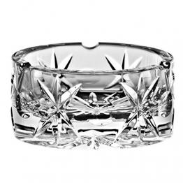 Crystaljulia 3040 Aschenbecher Bleikristall 10 x 5 cm - 1