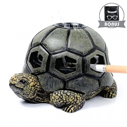 Monsiter Schildkröte Aschenbecher für Zigaretten Creative Turtle Aschenbecher Handwerk Dekoration - 1